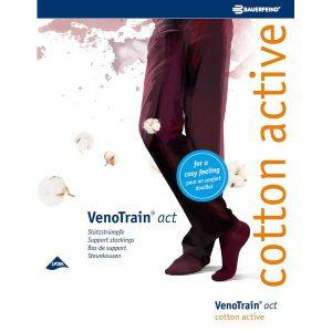 Steunkniekousen VenoTrain® Act Cotton active 280 den men