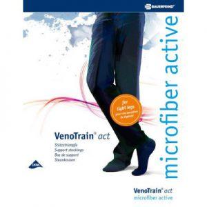 Steunkniekousen VenoTrain® Act Microfiber active 280 den men