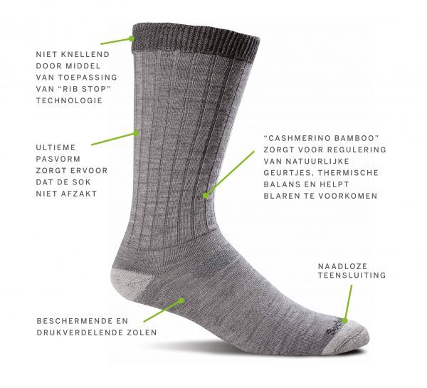 Diabetes sokken Sockwell Easy Does It SW2M Heren