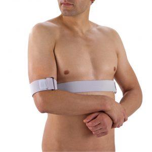 Push med schouderbrace